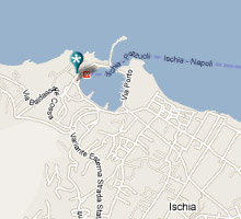 mappa Ischia Diving Center